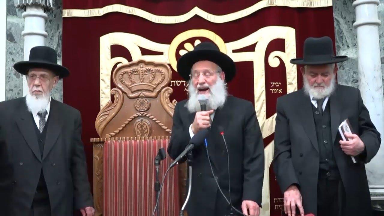 """בחירות תש""""פ - גדולי ישראל ומרן חכם שלום הכהן שליט""""א - יזדים"""