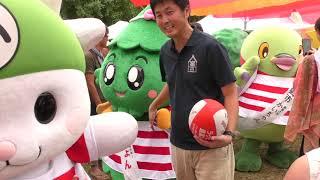 ラグビーW杯1年前イベントゆる玉フィフティ~ン