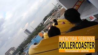 Serunya Naik Rollercoaster - Rollercoaster Excitement