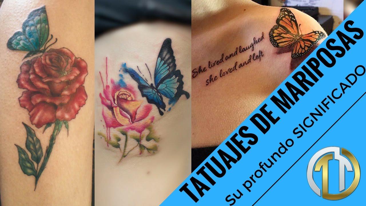 Butterfly Tattoos ó Tatuajes De Mariposas Estos Tatuajes Para