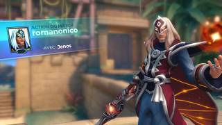 OB55 Gameplay Jenos - New design for select a champion (PTS)