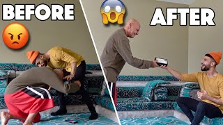 My Dad Destroyed My OLD iPhone, Then SURPRISED Me With NEW iPhone 11 PRO!!! *EMOTIONAL*