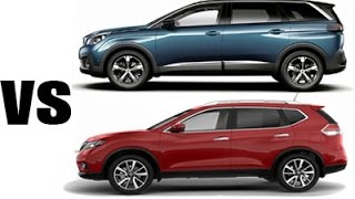 2017 peugeot 5008 vs nissan x trail comparatif hd design. Black Bedroom Furniture Sets. Home Design Ideas