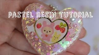 Pastel Resin Charms Tutorial