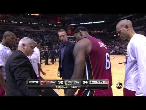 Leg cramps render LeBron James useless at crunch time in Game 1