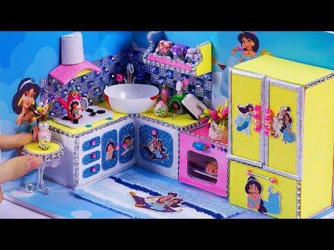 DIY Miniature Dollhouse ~ Aladdin Princess Jasmine Room Decor, Kitchen