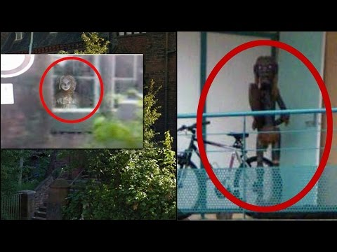 Top 5 Mysterious Creatures Caught on Google Maps