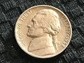 1938 D First Year Jefferson Nickel Found Live!!! Coin Roll Hunting!