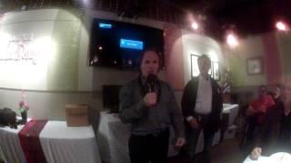"""Sensei Benny Urquidez speaks at the """"Jet Center"""" 20th Anniversary dinner"""