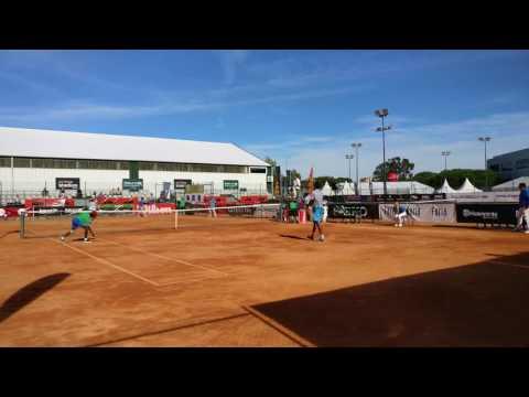 Match point de João Monteiro vs Francisco Cabral