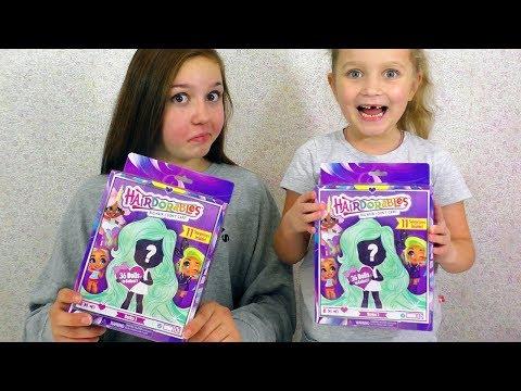 видео: Это Круче ЛОЛ!!! НОВИНКА Куклы hairdorables 11 Сюрпризов / Распаковка Хэйрдораблс