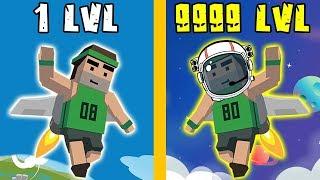 Jetpack Jump GOLD HACK | Jetpack Jump WORLD RECORD | Jetpack Jump MAX LEVEL | Games for Kids Video