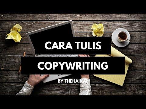 Cara Menulis Copywriting Dengan Mudah - YouTube