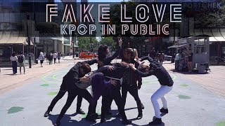 [KPOP IN PUBLIC - FAKE LOVE DANCE COVER] -- BTS -- 방탄소년단 [YOURS TRULY]