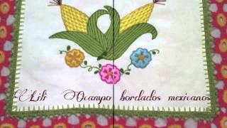 bordado fantasia proyecto xxxv septiembre patrio lily ocampo bordados mexicanos