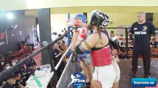 TV THAI | Celiana ( The Rocky ) vs Mariana ( Show Thai ) 085 Stadium Muay Thai 70kg