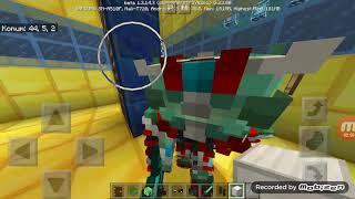Minecraft PART #1 Abimin ayağı kırıldı