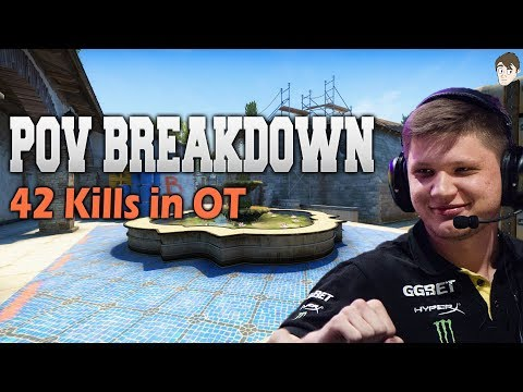 POV Breakdown: S1mple Boosts Navi to the Semi Finals with 42 Frags