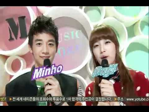 Minho and SUzy saying I love You to each other?