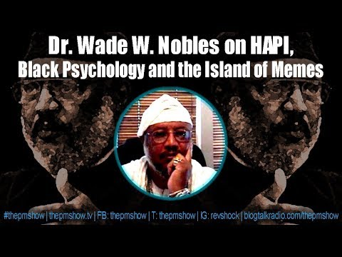 Dr. Wade W. Nobles  on HAPI, Black Psychology and the Island of Memes