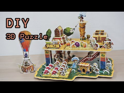 How To Make Plants vs Zombies 2 Lost City 3D Puzzle