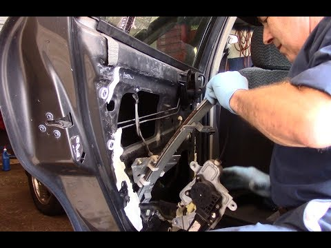 How to replace power window regulator 1999-2006 Pontiac Grand Am