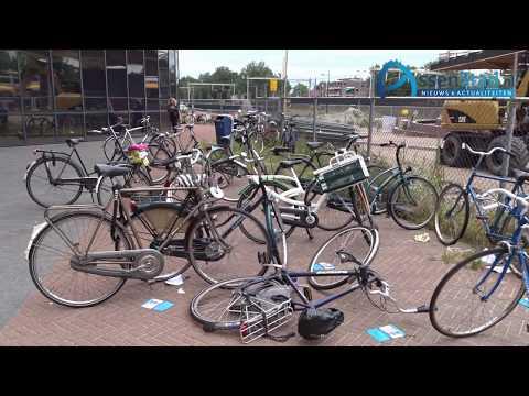 Handhaving fietsparkeerverbod Stationsgebied Assen