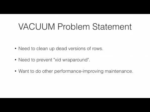 Understanding Autovacuum