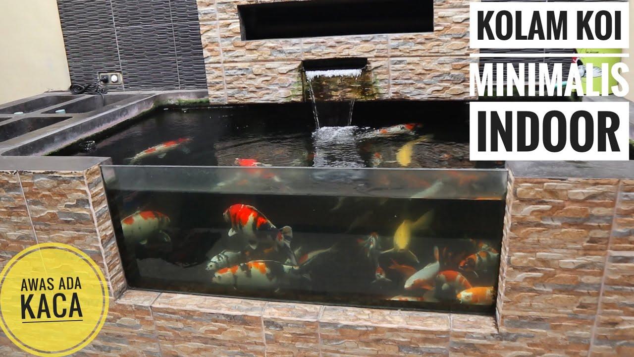 Kolam Ikan Kaca Minimalis - InfoAkuakultur.com