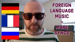 Land More Syncs With FOREIGN LANGUAGE Music.