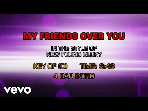 New Found Glory - My Friends Over You (Karaoke)