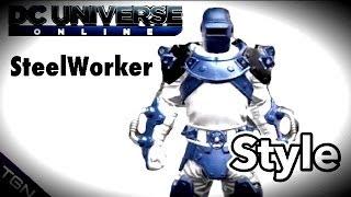 DCUO | Steel Worker Complete Style