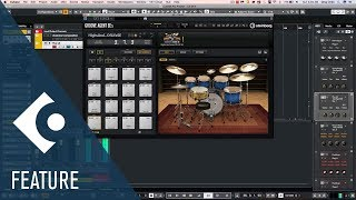 Enhancements in the Included Groove Agent SE 5 | New Features in Cubase 10