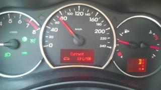 Renault Koleos Фаза 1. Бензин 2.5 Вариатор 4х4 . Расход  топлива на трассе.