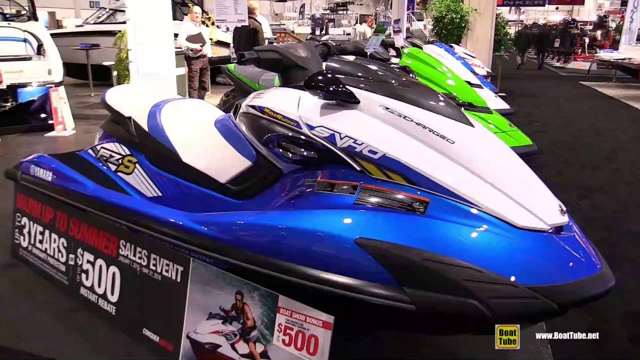 2016 Yamaha FZS Jet Ski - Walkaround - 2016 Toronto Boat ...