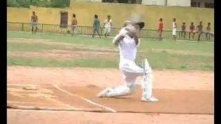 Sharujan Batting Style