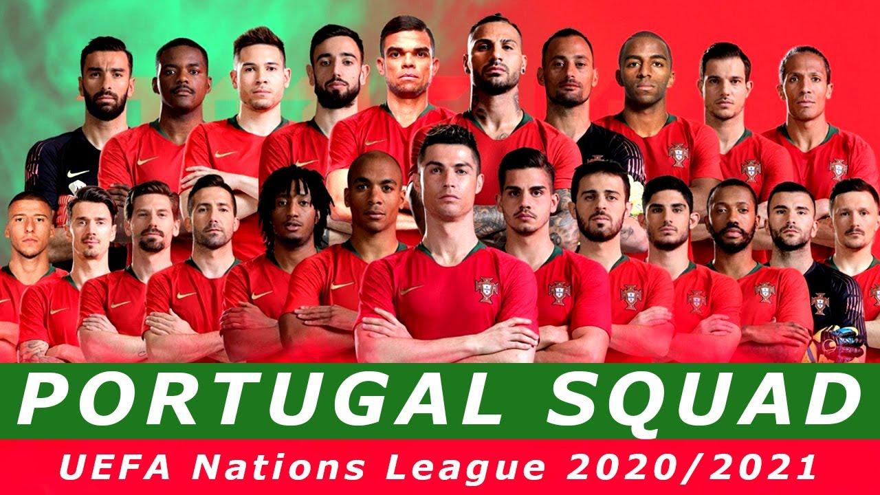 Portugal Squad Uefa Nations League 2020 2021 Youtube