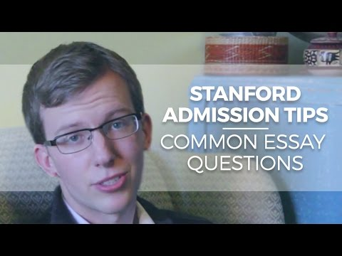 Stanford university admission essay