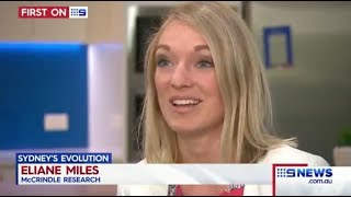 Eliane Miles on Nine News: Aerial Sydney