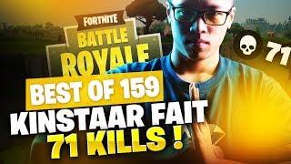 BEST OF SOLARY FORTNITE #159 ► KINSTAAR FAIT 71 KILLS !!!