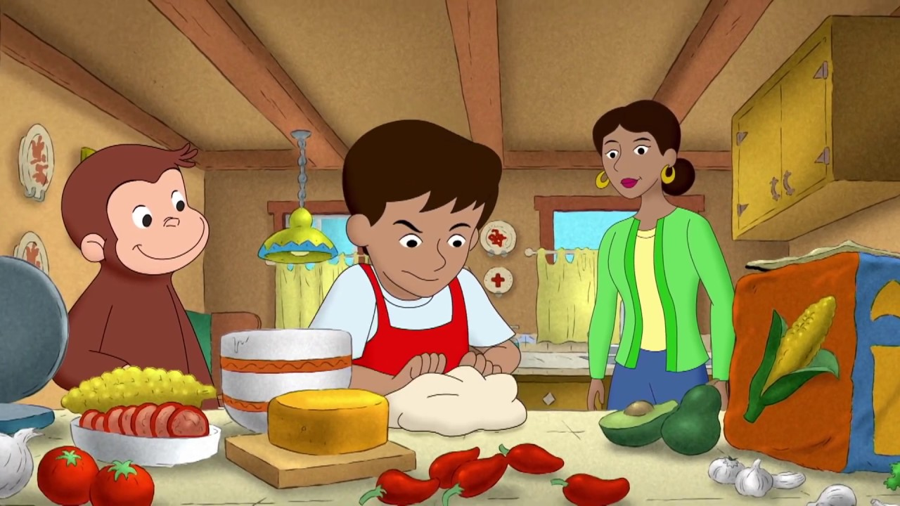 Tortilla Express 🐵Curious George 🐵Kids Cartoon🐵Kids Movies🐵Videos for Kids