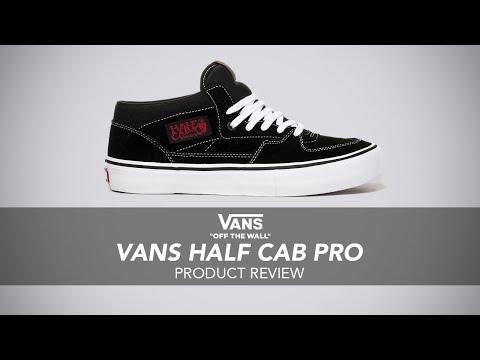 Vans Half Cab Pro Skate Shoe Review - Rollersnakes.co.uk