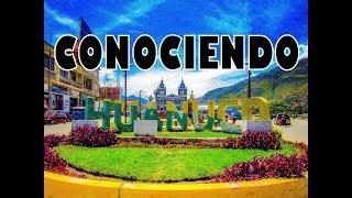 CONOCIENDO HUÁNUCO - PASAPORTE NACIONAL