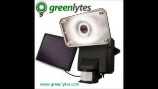 Greenlytes Solar Security Lights | Solar Powered Security Lights