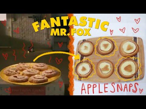 I Baked Fantastic Mr Fox Applesnaps I Am Jess Youtube