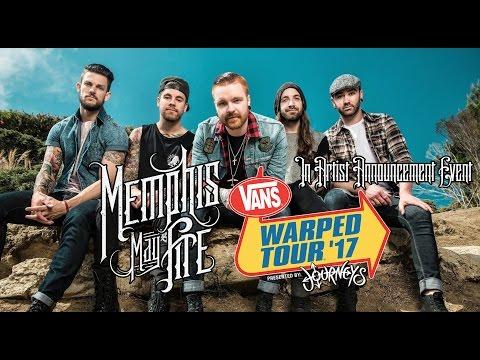 Memphis May Fire (Live Vans Warped Tour 2017 Artist Announcement Event)