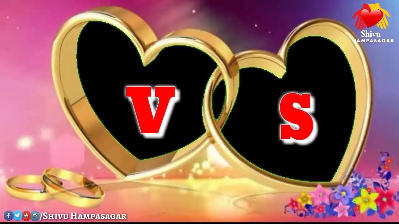 Vs Letter Whatsaap Status Video Sv Letter Whatsaap Status Video Vs Love Whatsaap Status