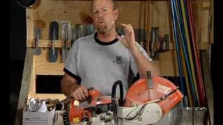 Cut-Off Concrete Saws & Saw Blades Video—ConcreteNetwork.com