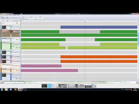DEMO PSYTRANCE (made with Propellerhead Reason)