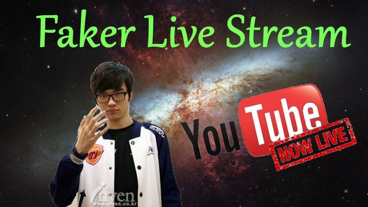 Faker Live Stream